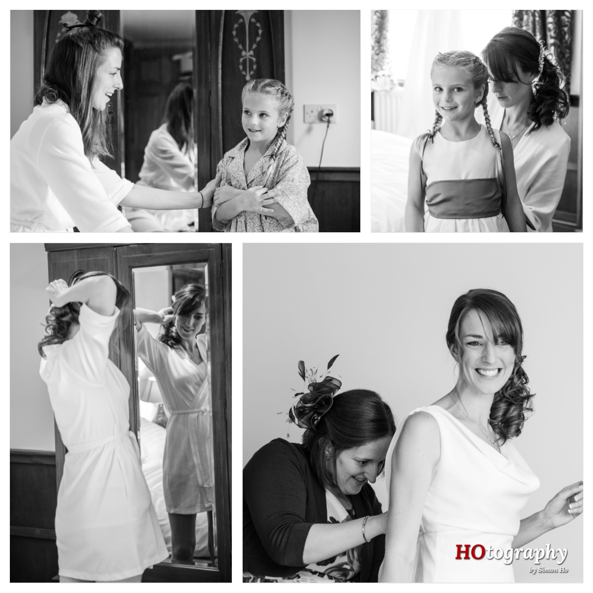 CK wedding - bridal prep
