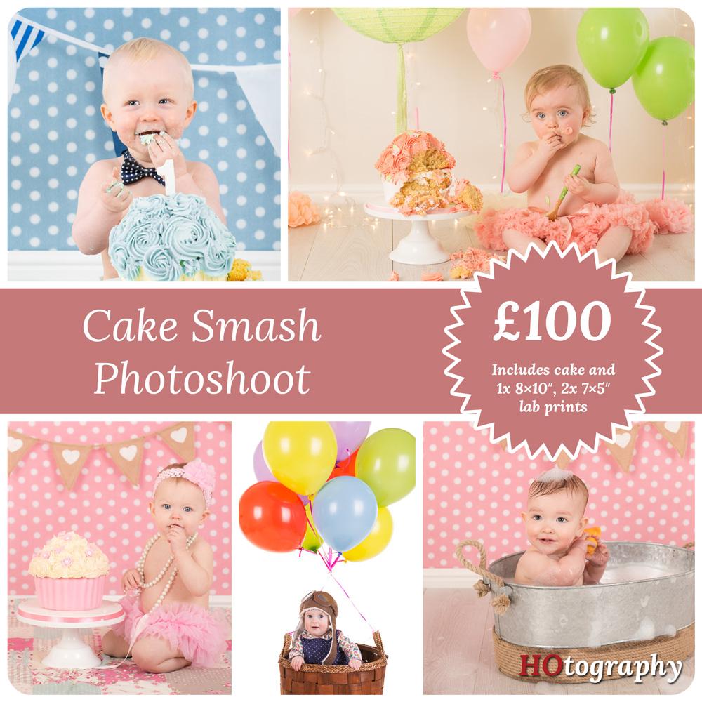 cake smash pricing