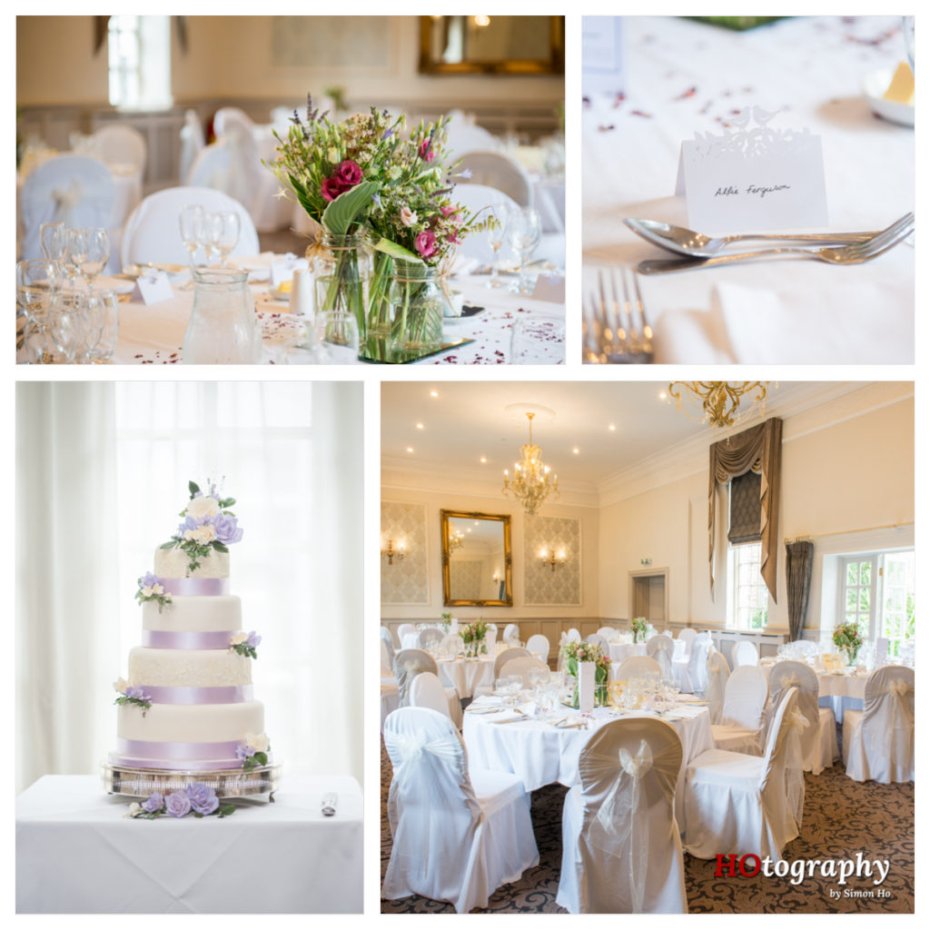 Wedding breakfast at Bridge Inn - Wetherby