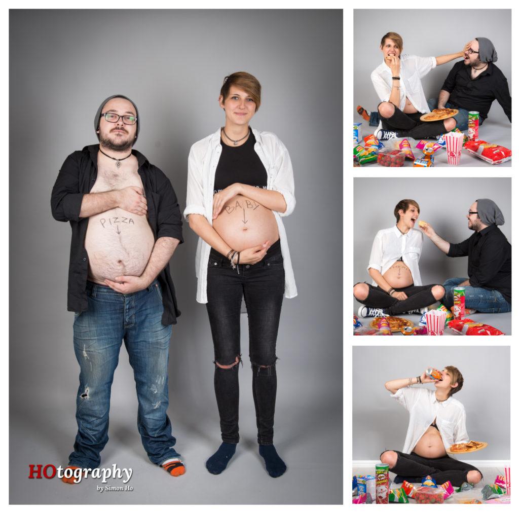 Funny joke pregnancy shots