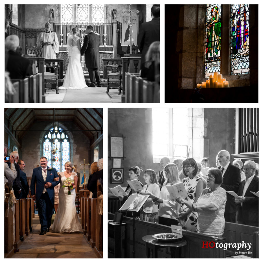 All Saints, Wighill - wedding service